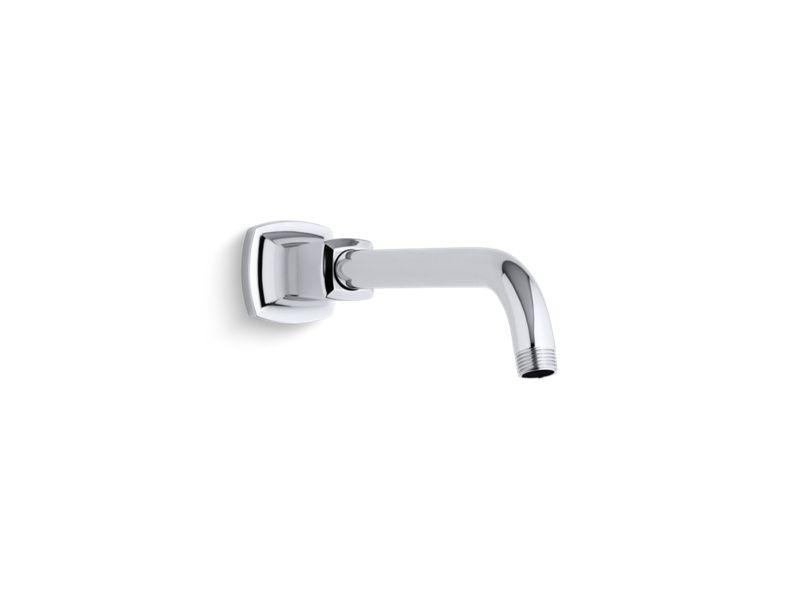 Margaux® shower arm and flange, Polished Chrome