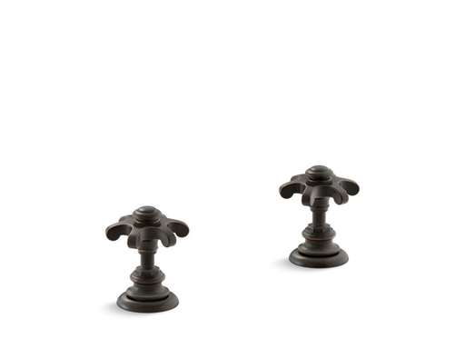 Artifacts® Bathroom sink prong handles, Oil-Rubbed Bronze