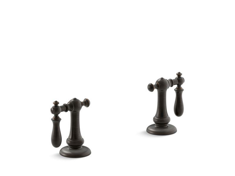 Artifacts® Bathroom sink swing lever handles, Oil-Rubbed Bronze