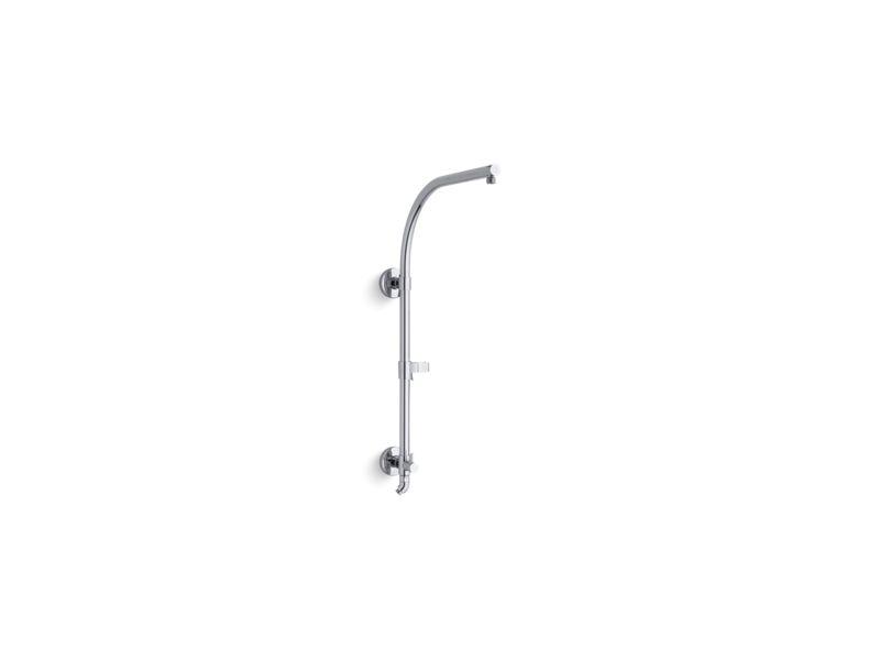 HydroRail®-R arch shower column, Polished Chrome