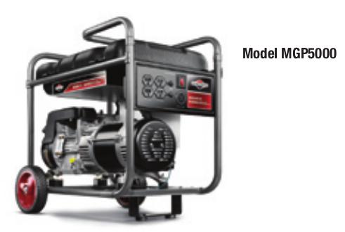 MIB MGP5000 5000 WATT PORTABLE GENERATOR