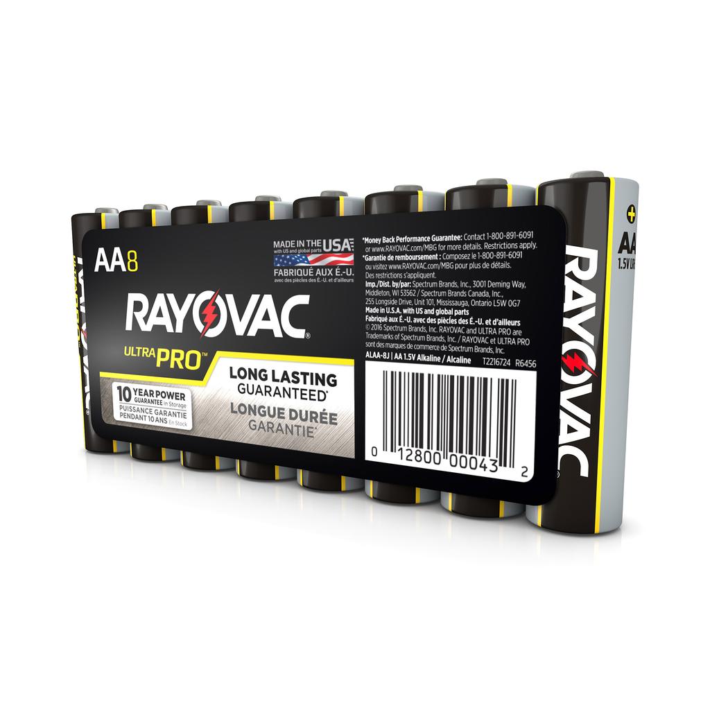 Rayovac,AL-AA,RAYOVAC AL-AA Battery AA Alkaline