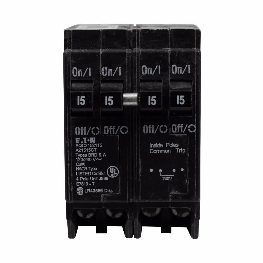 Eaton Electrical BQC230230 1 Inch CTL Class Type BQC Plug-On Circuit Breaker
