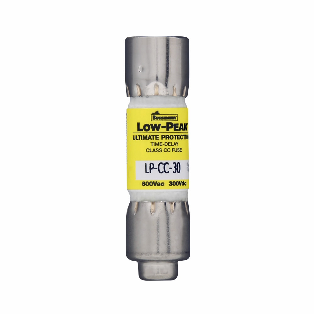 Bussmann Series LP-CC-10 Low Peak Time Delay Fuse
