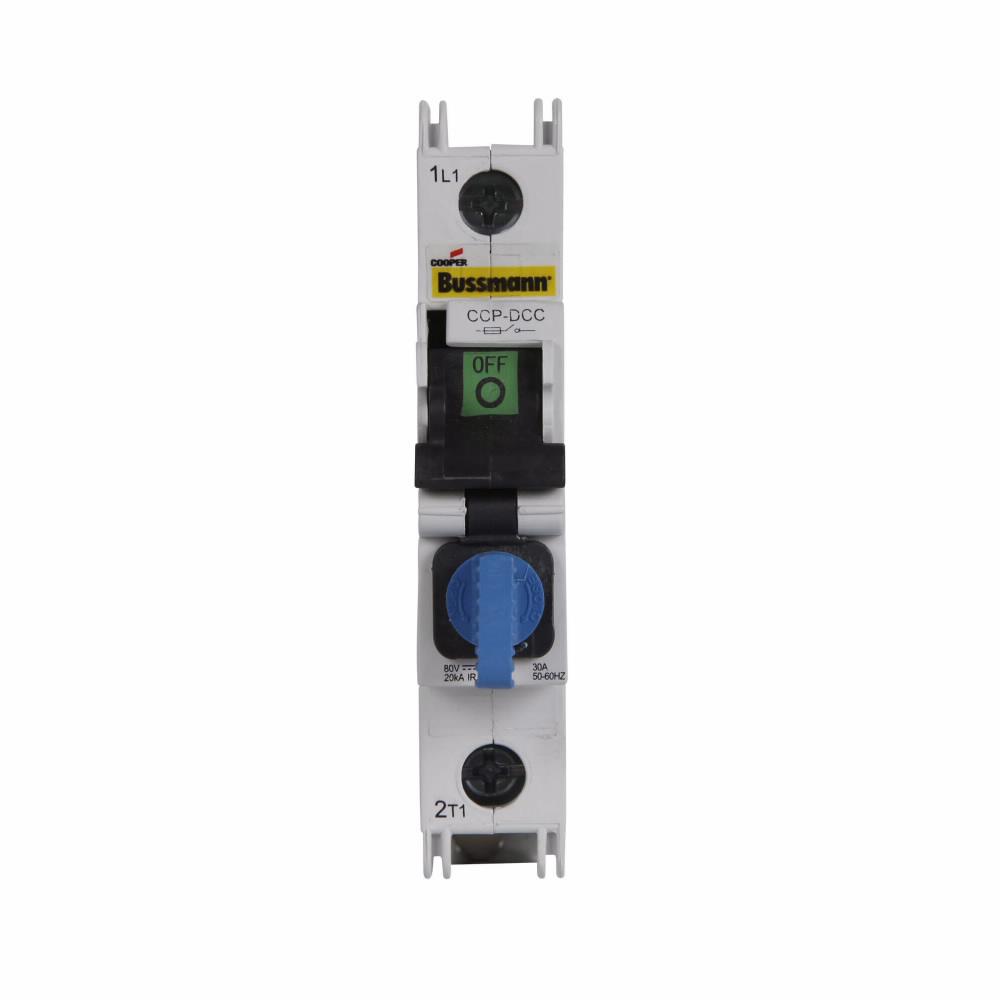 Eaton Bussmann CCP-1-DCC 1-Pole Class CC DC Compact Circuit Protetor