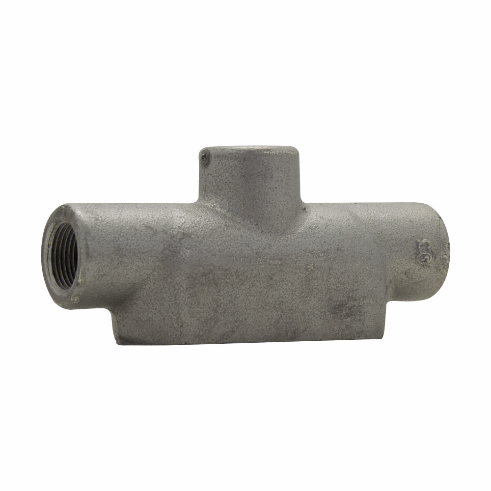 Eaton Crouse-Hinds series Condulet Form 7 conduit outlet body, Copper-free aluminum, TB shape, 1-1/4""