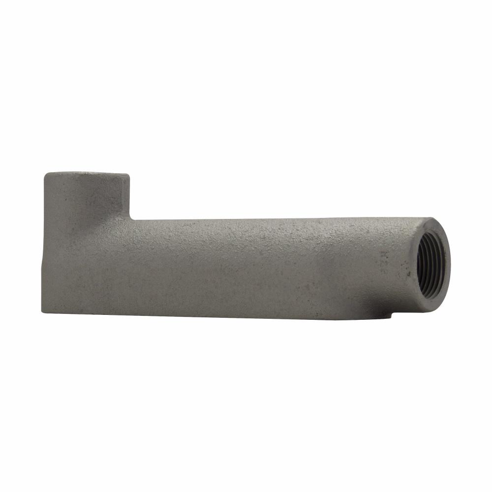 "Eaton Crouse-Hinds series Condulet B mogul conduit body, Feraloy iron alloy, LB shape, 2-1/2"""