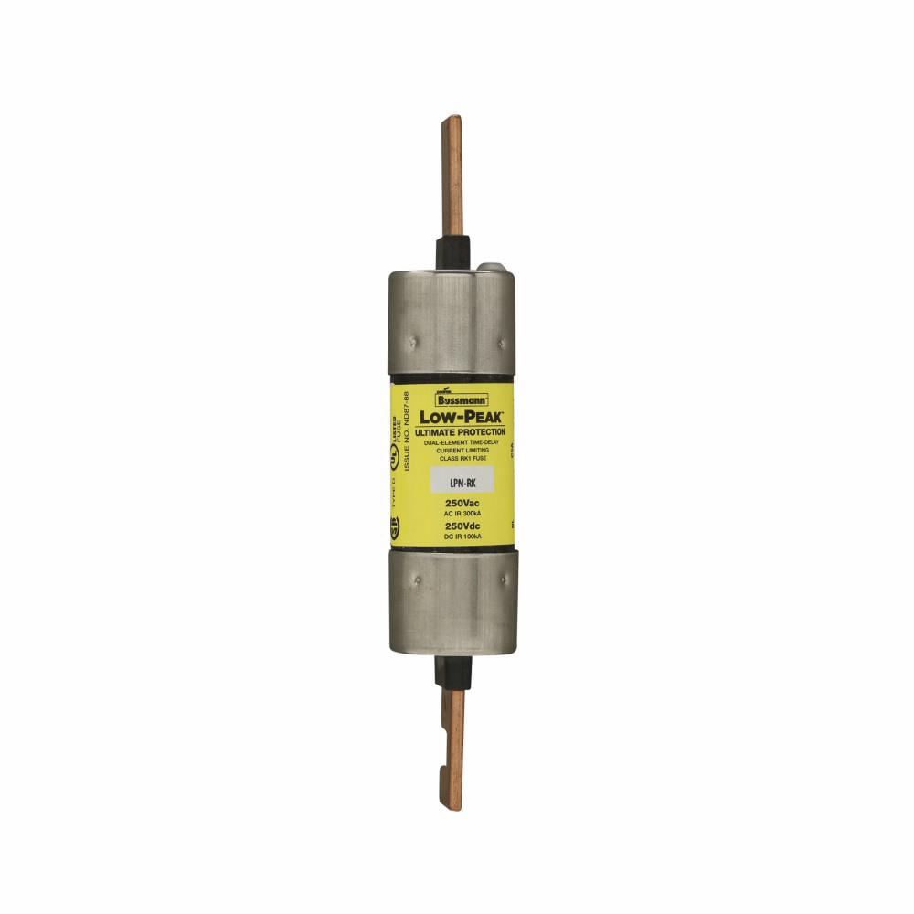 Bussmann Series LPN-RK-100SP Low Peak Dual Element Fuse