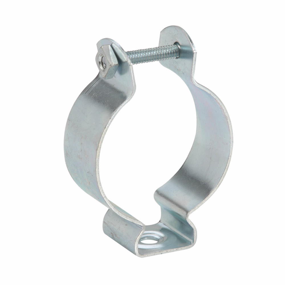 B-Line Series BL1410SS4 3/4 Inch Rigid/EMT Stainless Steel Conduit Hanger with Bolt and Thread