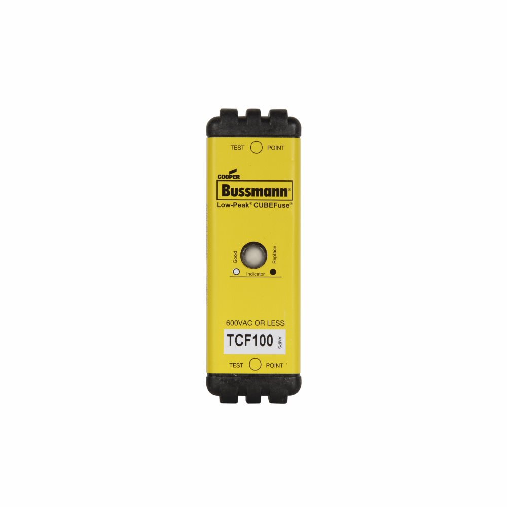 Bussmann Series TCF100 100 Amp Finger Safe Time Delay Fuse