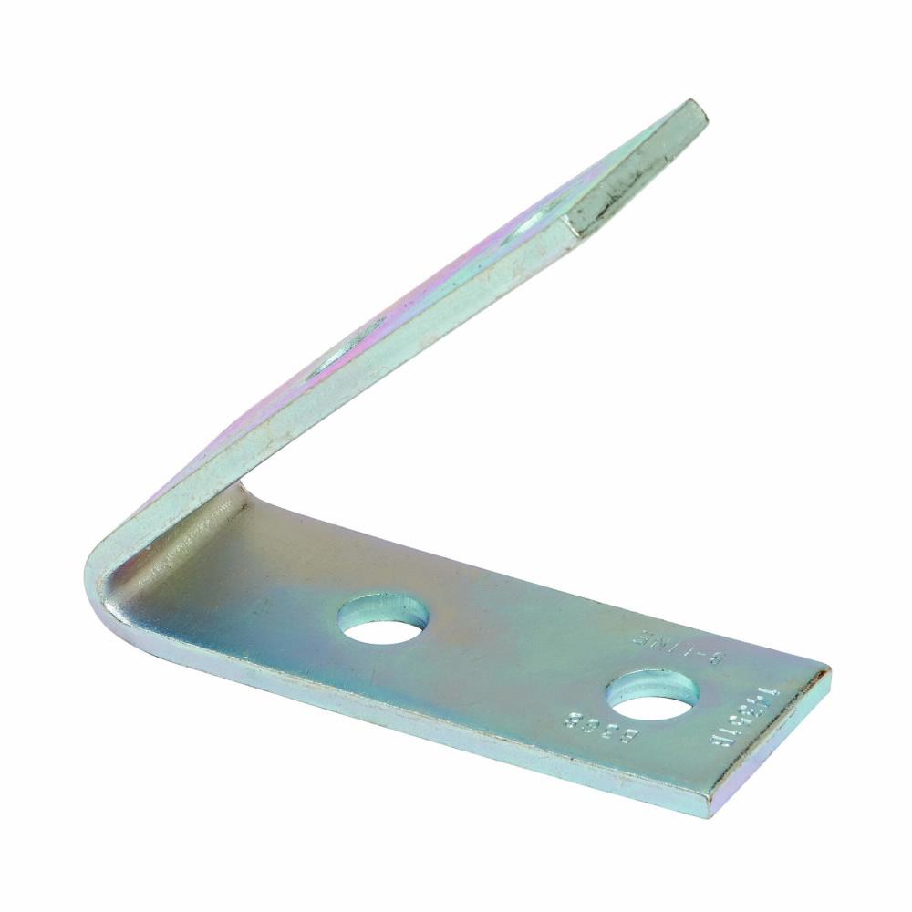 B-Line Series B368ZN Zinc Plated 4-Hole 45 Degrees Closed Angle