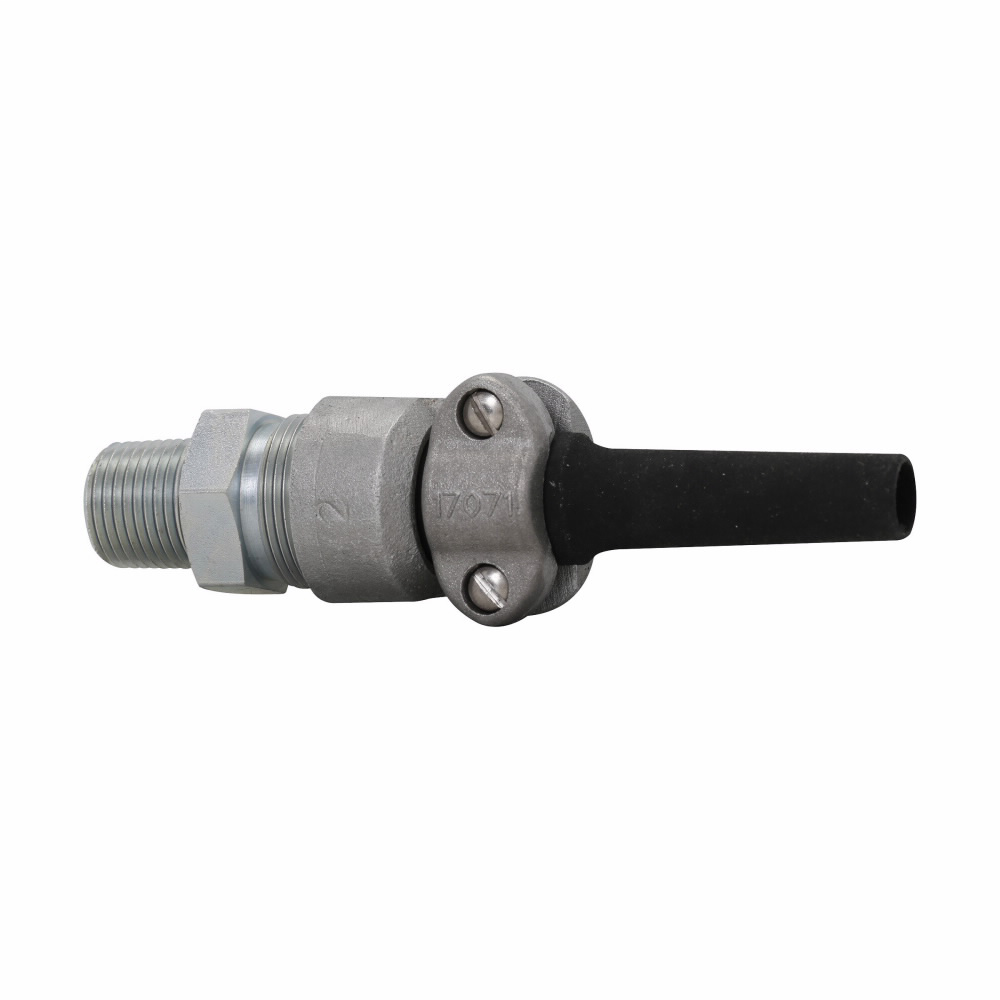 """Eaton Crouse-Hinds series CGBS portable cord connector, Non-armoured cable, Steel, Outer sheath min/max: 0.500-0.625"""", Explosionproof, 1"""" NPT"""