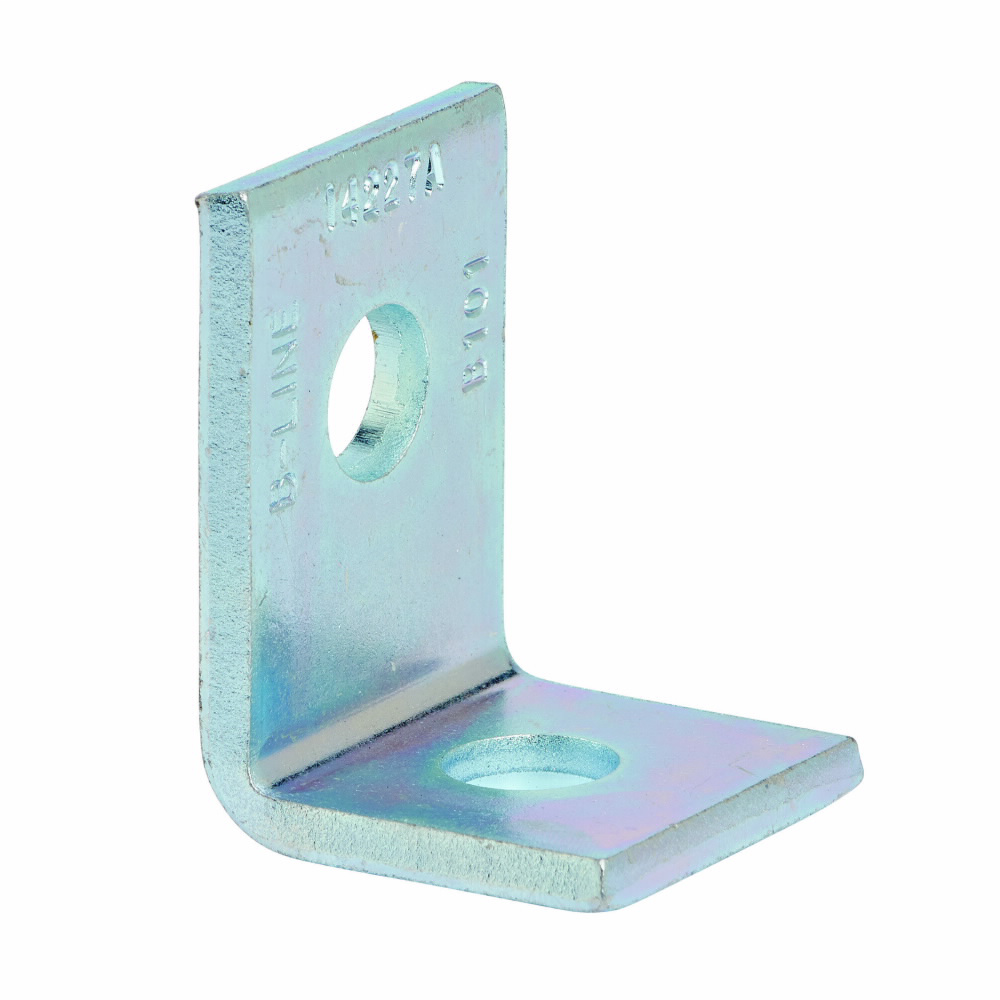 B-Line Series B101ZN Zinc Plated 2-Hole Corner Angle