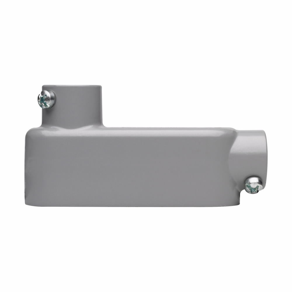 Crouse-Hinds Series LB75 CGN 2-1/2 Inch Die-Cast Aluminum Type LB Rigid/IMC Conduit Body and Cover with Gasket
