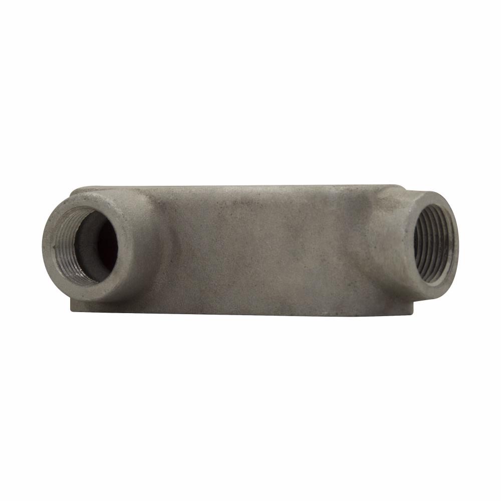 "Eaton Crouse-Hinds series Condulet Mark 9 conduit outlet body, Copper-free aluminum, LL shape, 3"""