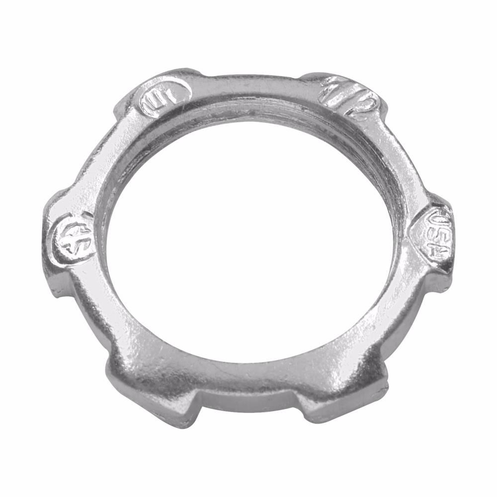Crouse-Hinds Series 12-3/4 Inch Malleable Iron Rigid Conduit Locknut
