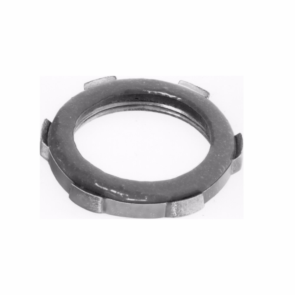 Crouse-Hinds Series SL2 3/4 Inch Steel Rigid Conduit Sealing Locknut