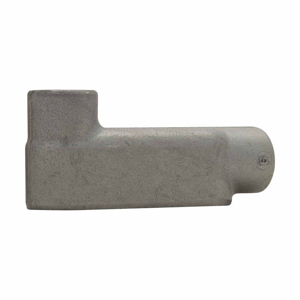 Eaton Crouse-Hinds series Condulet Form 8 conduit outlet body, Feraloy iron alloy, LB shape, 2-1/2""