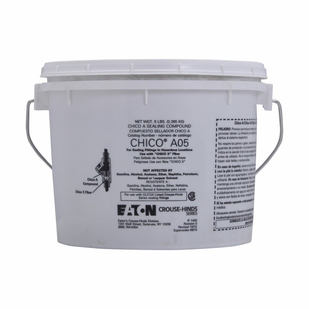 Mayer-Eaton Crouse-Hinds series Chico A sealing compound, 115 Cu In-1