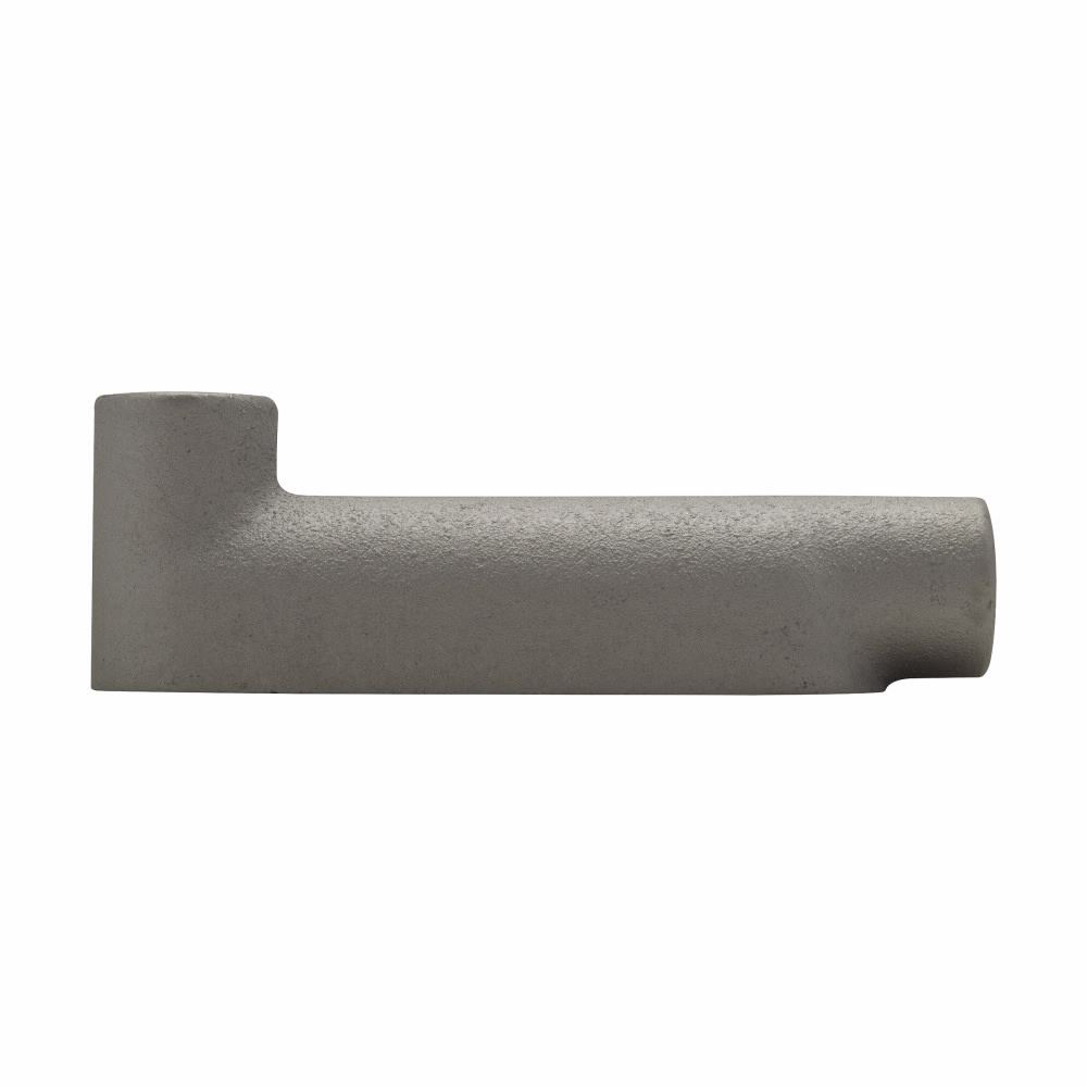 "Eaton Crouse-Hinds series Condulet B mogul conduit body, Feraloy iron alloy, LB shape, 1"""