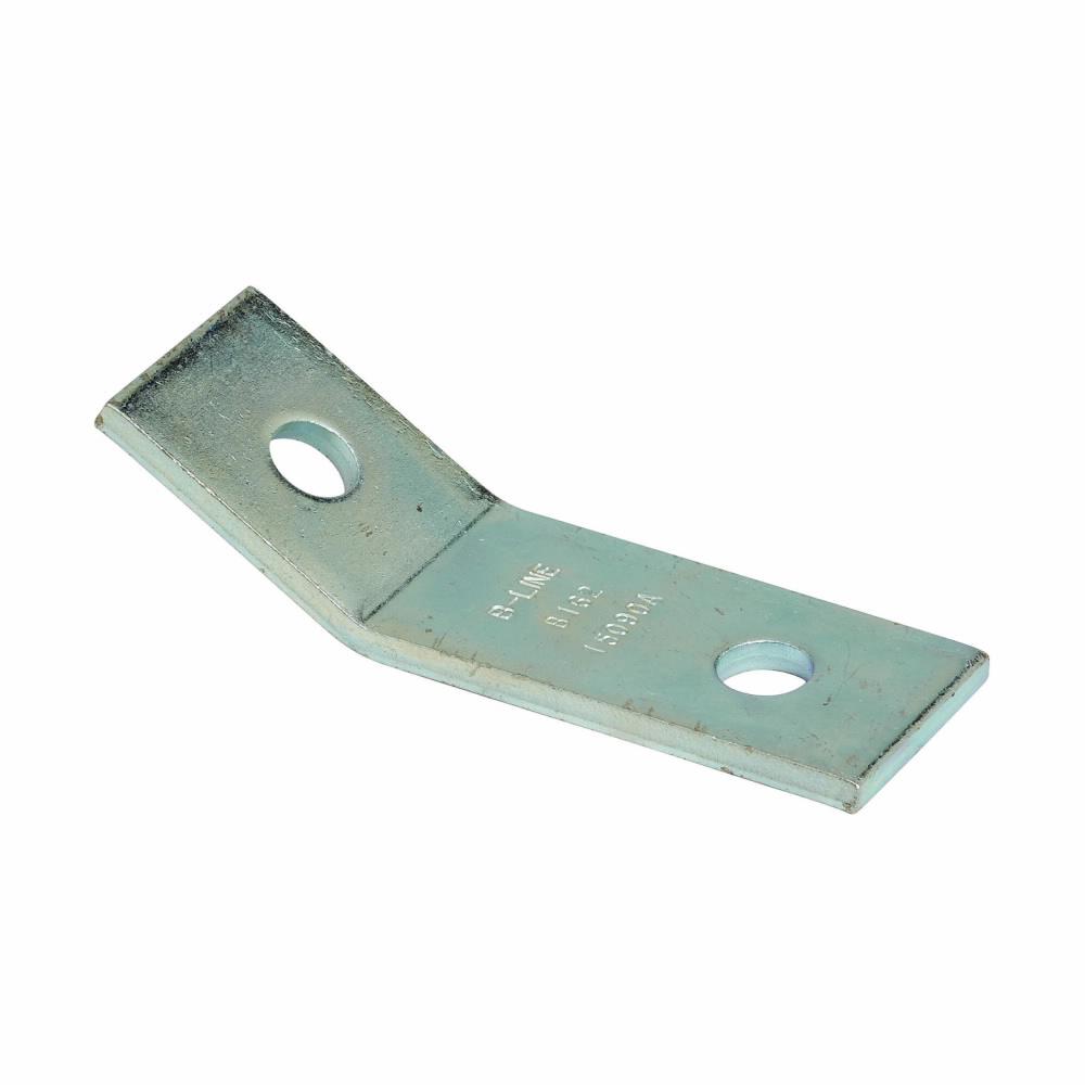 B-Line Series B162ZN 2-Hole 30 Degree Zinc Plated Open Angle
