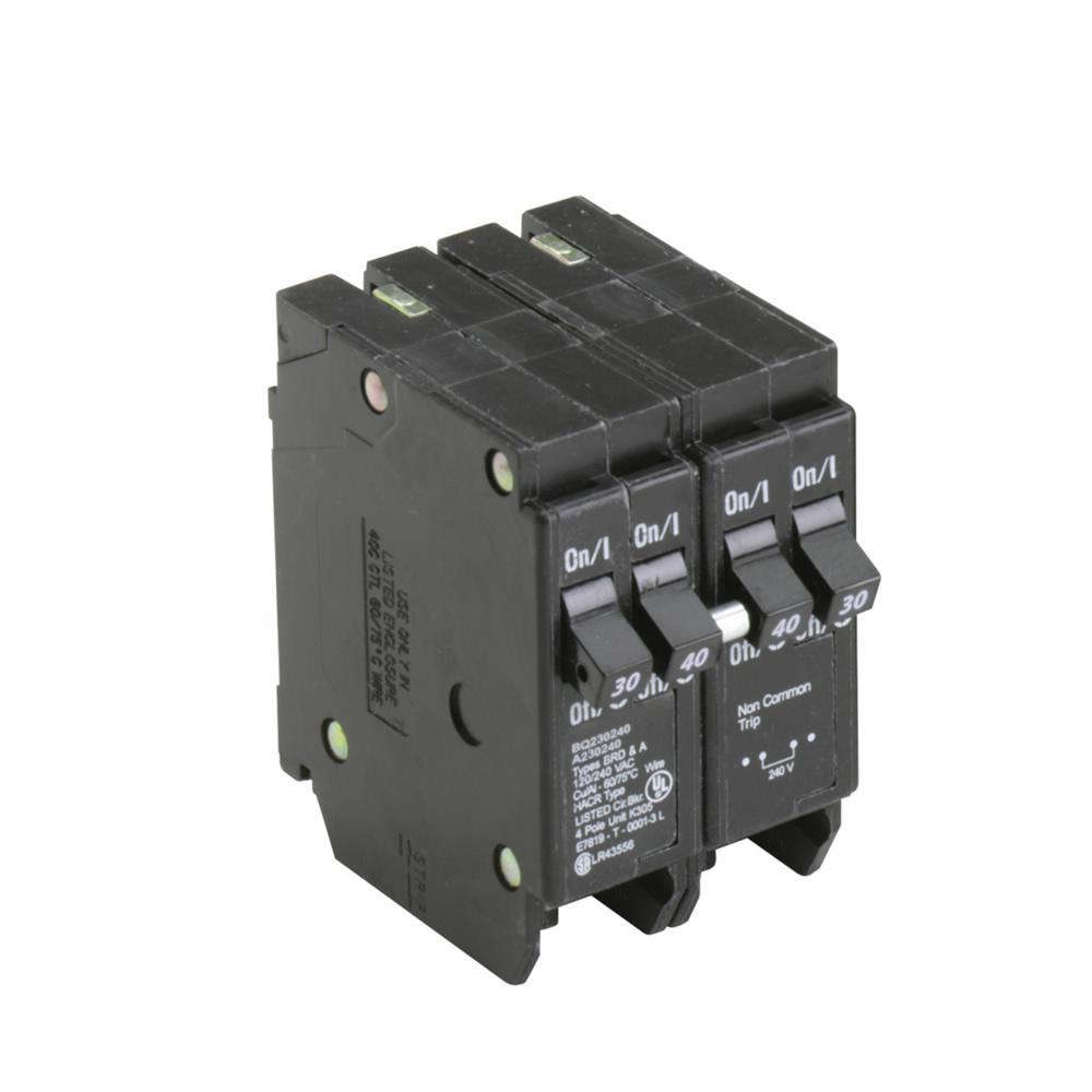 Eaton Electrical BQ230240 1 Inch CTL Class Type BQ Plug-On Circuit Breaker