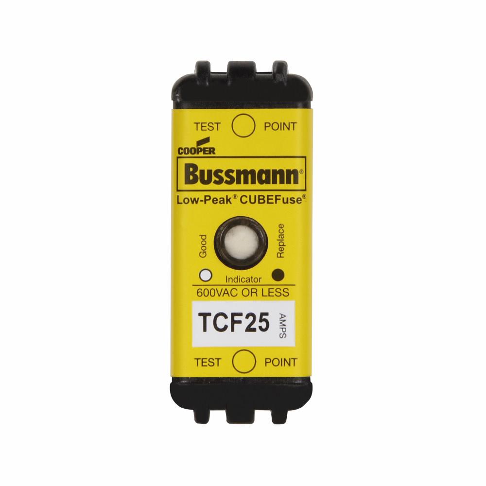 Bussmann Series TCF25 25 Amp Cubefuse