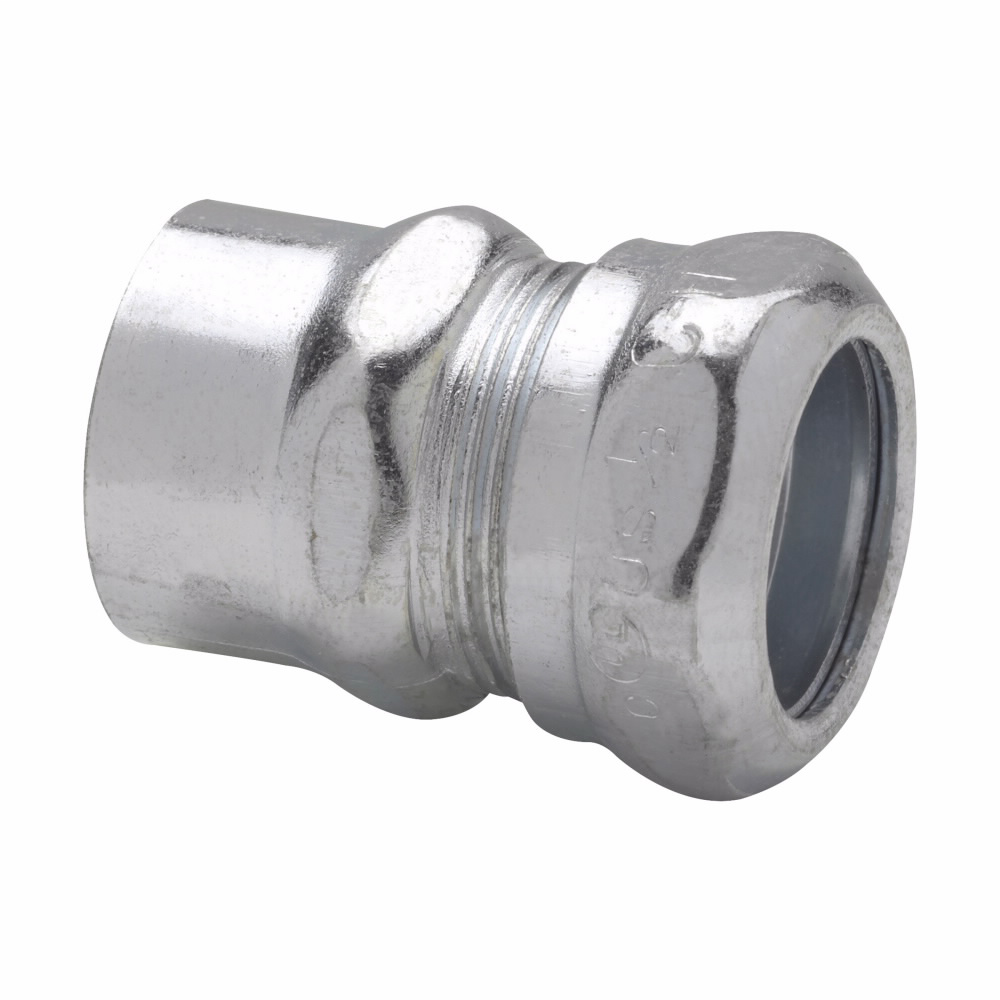 Crouse-Hinds Series 691 3/4 Inch Steel EMT to Rigid Conduit Combination Coupling