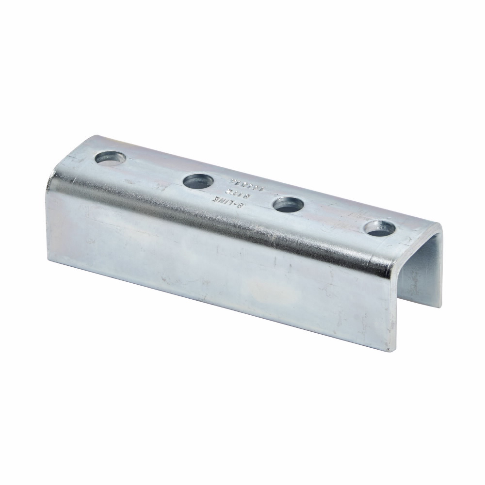 B-Line Series B172ZN 4-Hole Zinc Plated Splice Clevis
