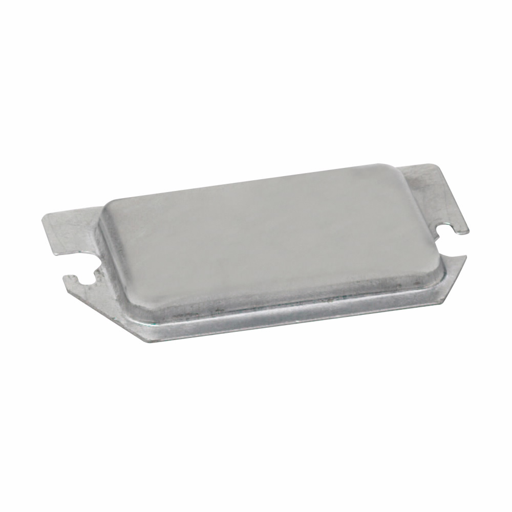 B-Line Series BPR2 Metal Protector Plate for Two Device Receptacle and GFCI
