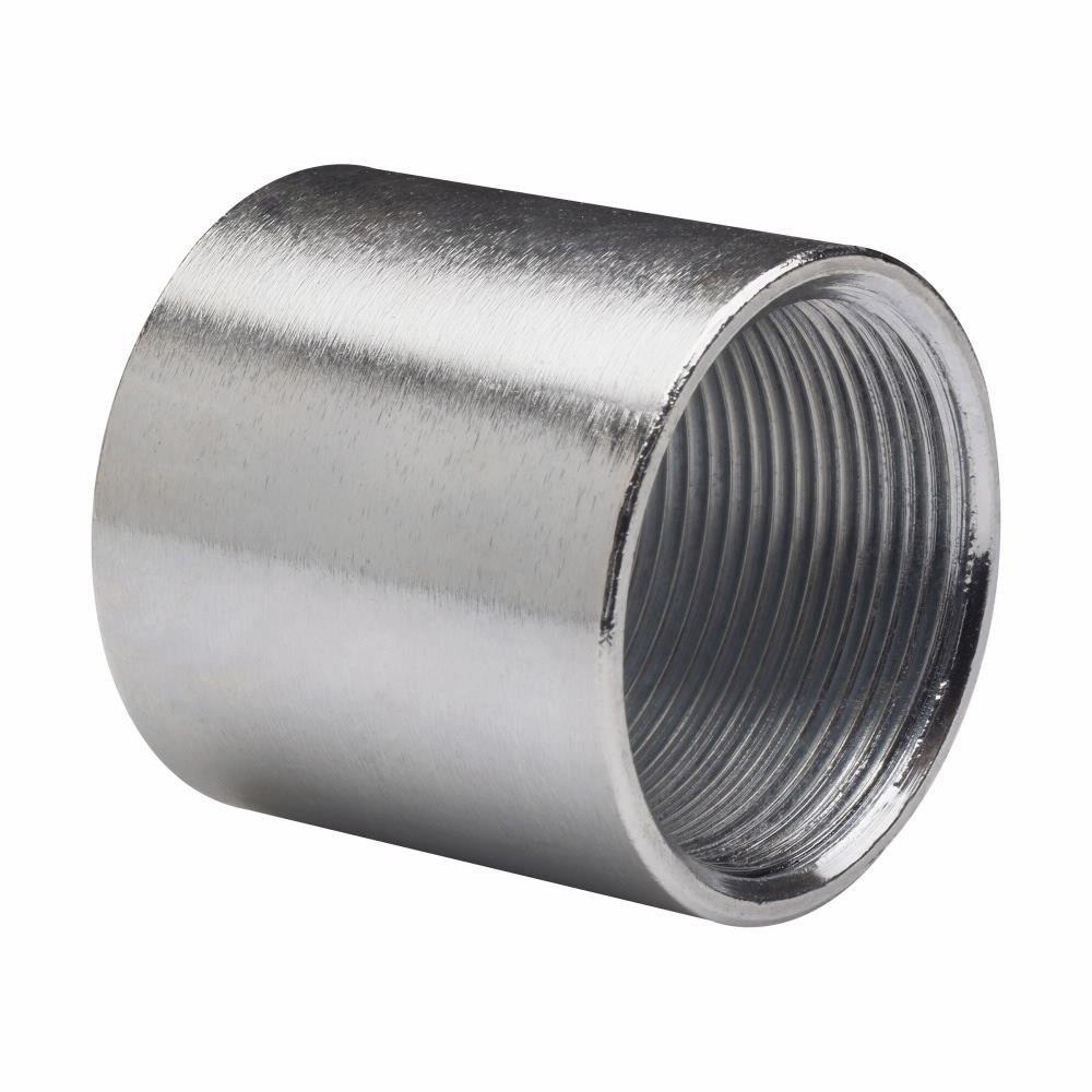 Crouse-Hinds Series RC500 5 Inch Steel Threaded Rigid Conduit Coupling