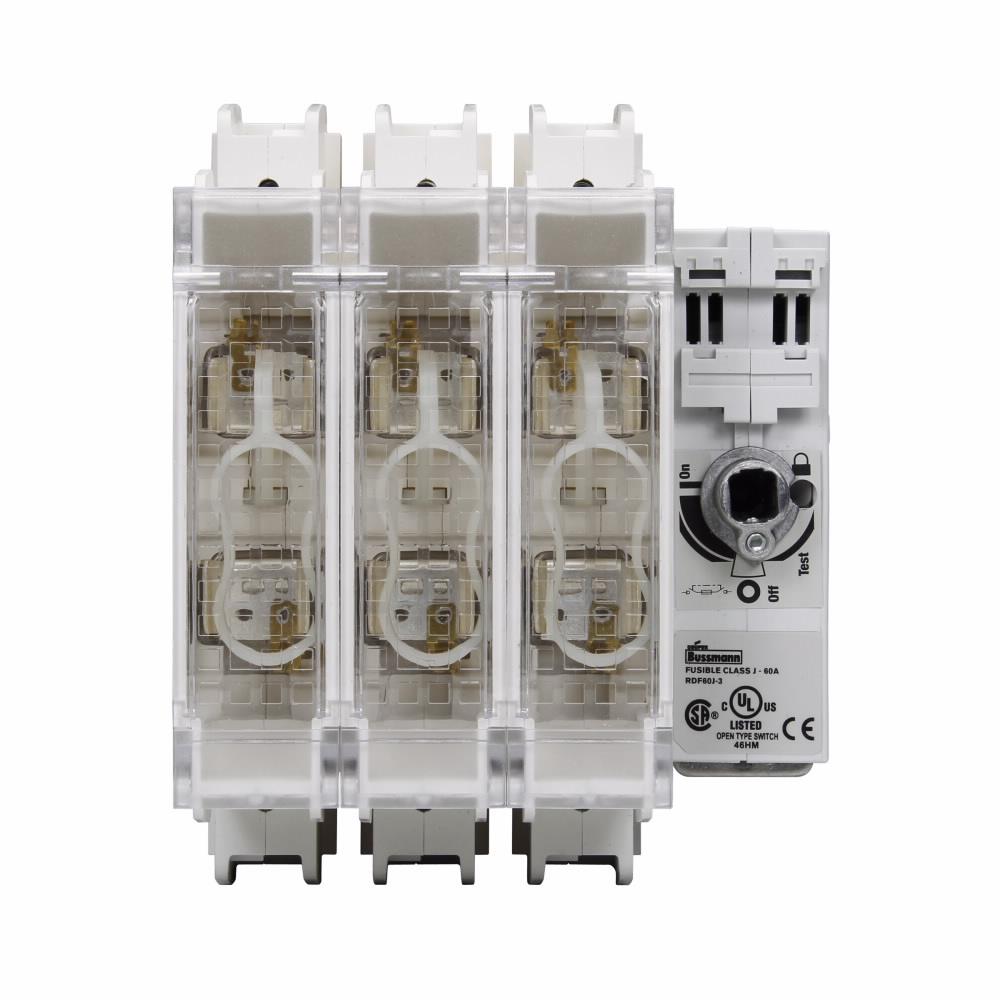 BUSS RDF60J-2 Switch 60A J 2P UL98
