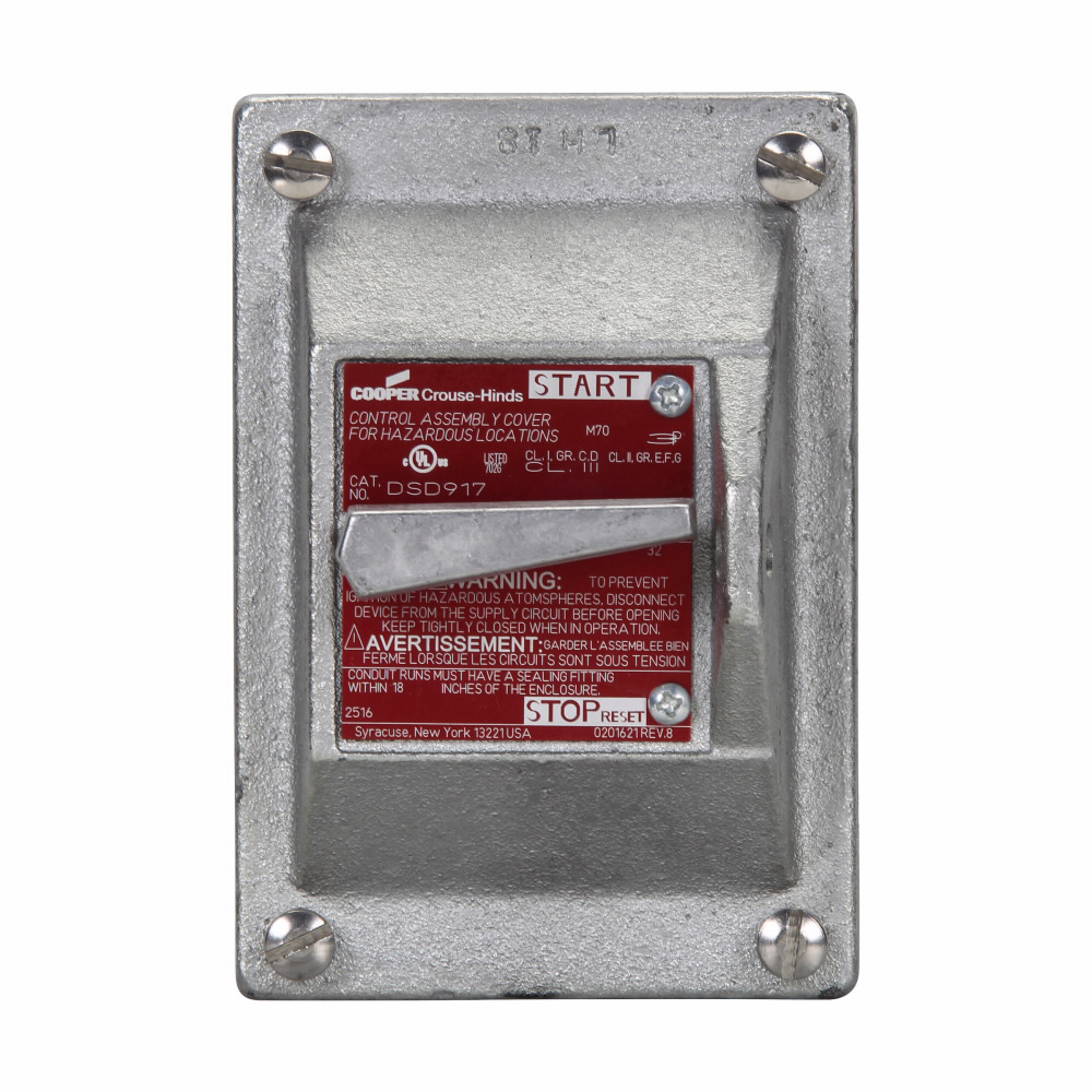 Crouse-Hinds Series DS415 Fire Alarm System