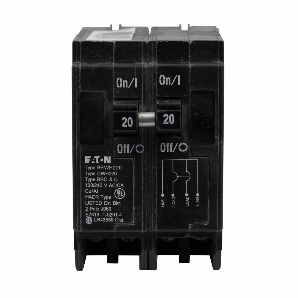 Eaton Electrical BWH2125 Type BW Main Circuit Breaker
