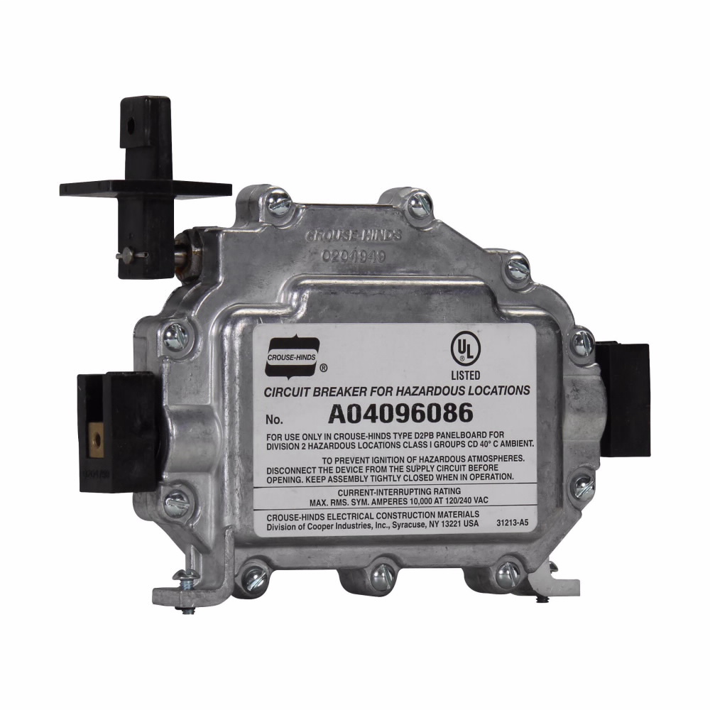 Eaton Crouse-Hinds series D2CB replacement circuit breaker assembly