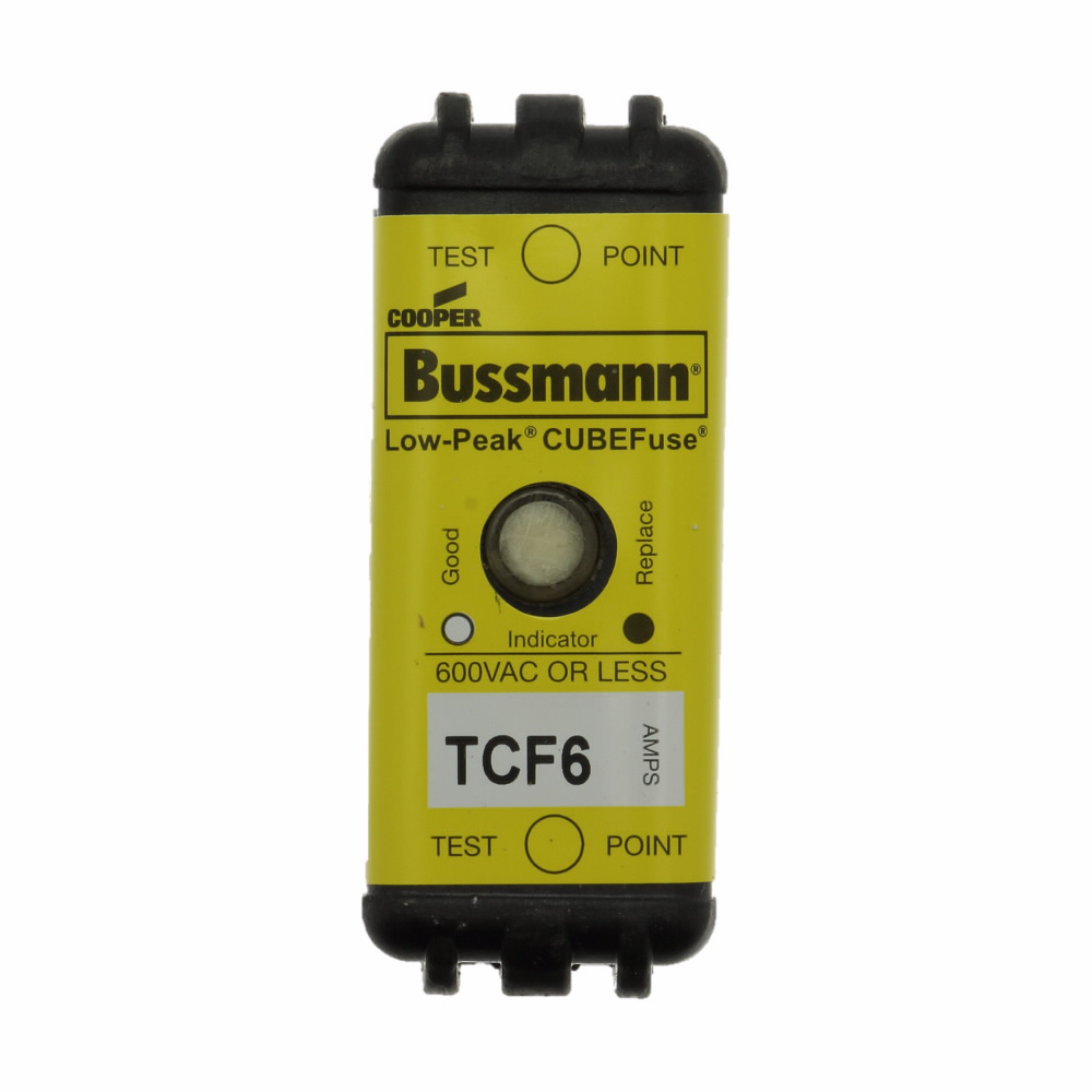 Bussmann Series TCF6 6 Amp Fuse Assembly