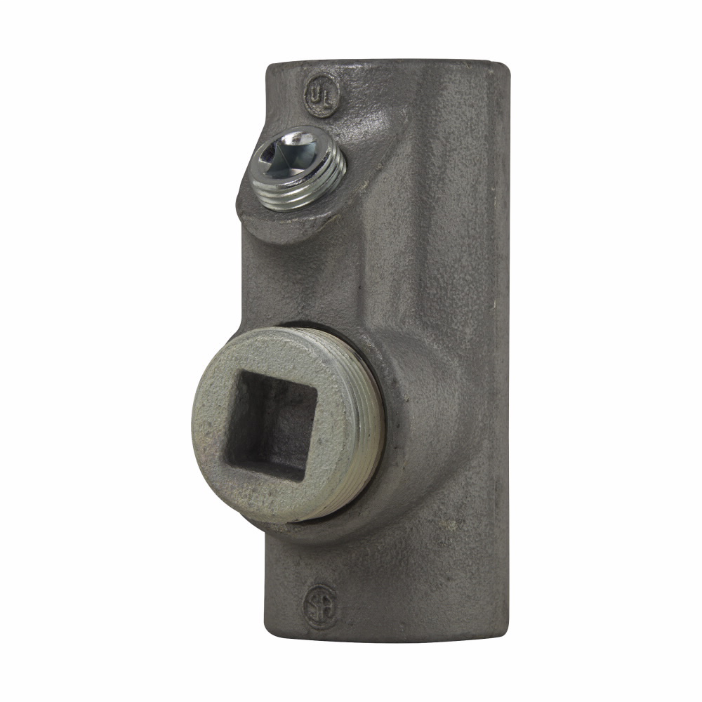 Crouse-Hinds Series EYS7 2-1/2 Inch Female Hub Electrogalvanized Ductile/Iron Alloy Conduit Sealing