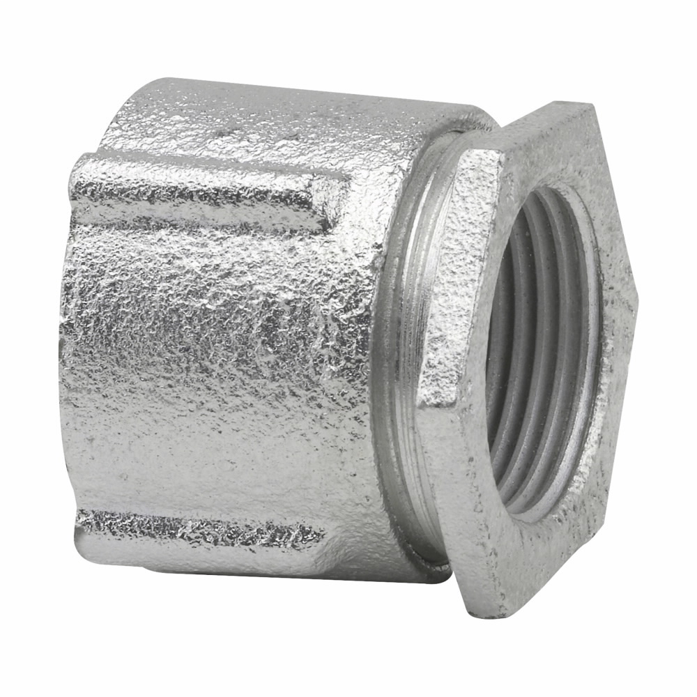 Crouse-Hinds Series 191 3/4 Inch Malleable Iron Threaded 3-Piece Rigid Conduit Coupling