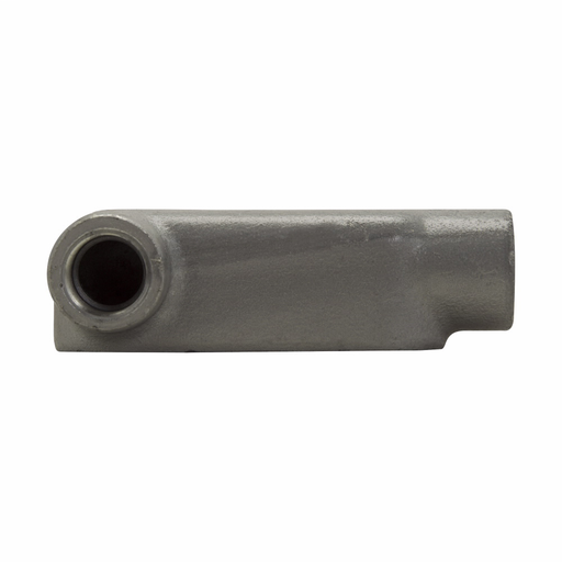 """Eaton Crouse-Hinds series Condulet Form 8 conduit outlet body, Feraloy iron alloy, LL shape, 2"""""""