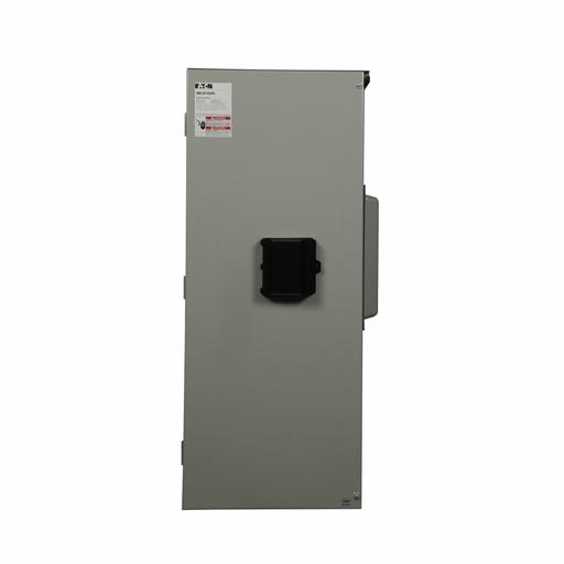 Eaton main circuit breaker, 1000A, Aluminum, NEMA 3R, Overhead/underground, 65 kAIC, NGS, Four-wire, Three-phase, 120/208V, (4) #4/0 AWG-500 kcmil