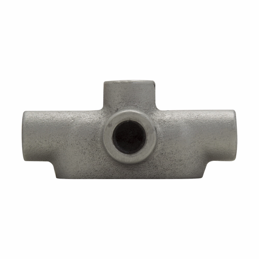 Eaton Crouse-Hinds series Condulet Form 7 conduit outlet body, Feraloy iron alloy, TA shape, 1-1/4""