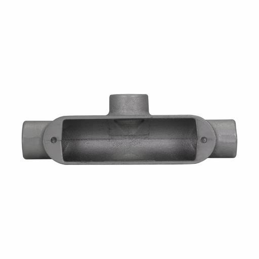 "Eaton Crouse-Hinds series Condulet B mogul conduit body, Feraloy iron alloy, T shape, 3"""