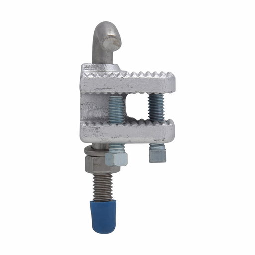 """Mayer-Eaton Crouse-Hinds series LCC cable tray conduit clamp, Cast iron, 1-1/2"""", For use with outside rail tray-1"""