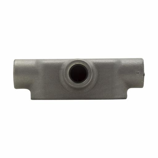 "Eaton Crouse-Hinds series Condulet Form 8 conduit outlet body, Feraloy iron alloy, T shape, 1/2"""