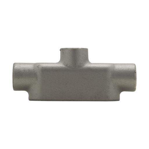 Eaton Crouse-Hinds series Condulet Form 8 conduit outlet body, Feraloy iron alloy, TB shape, 1-1/4""