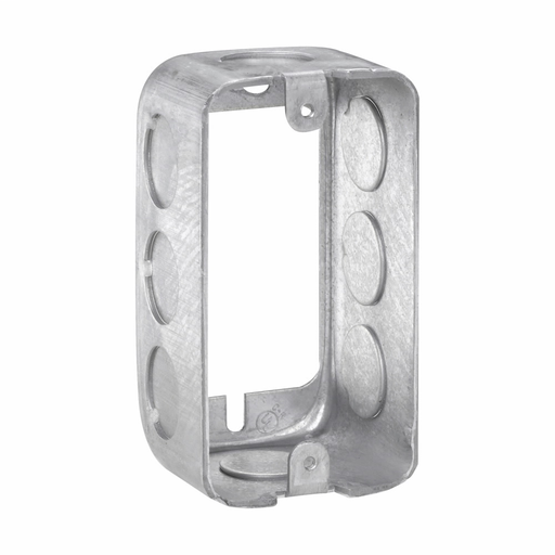 """Eaton Crouse-Hinds series Utility Extension Ring, 1-1/2"""", Steel, (8) 1/2"""", 10.3 cubic inch capacity"""