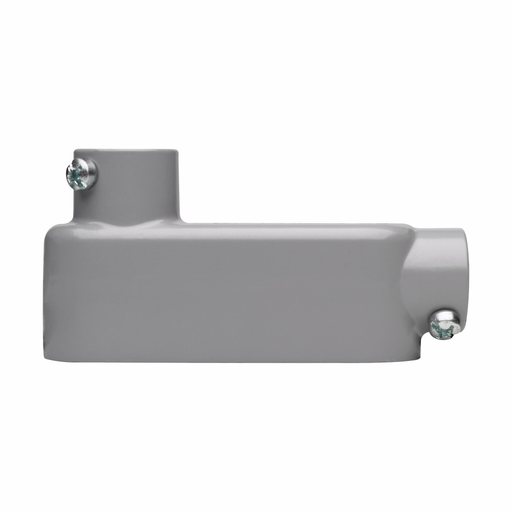 Eaton Crouse-Hinds series Condulet Series 5 conduit outlet body, Rigid/IMC, Copper-free aluminum, LB shape, Body, traditional cover and gasket, 3-1/2""