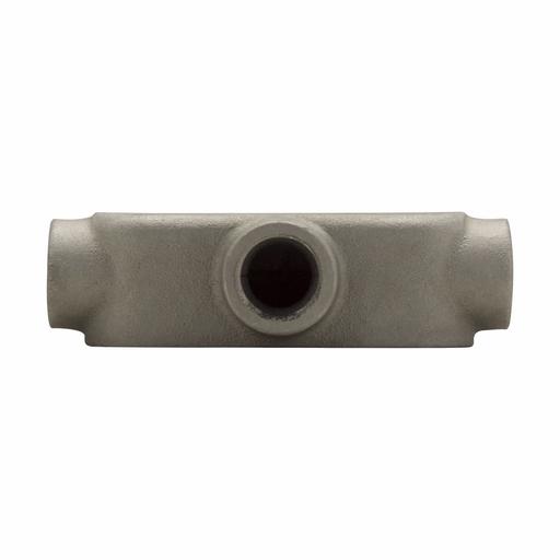 "Eaton Crouse-Hinds series Condulet Mark 9 conduit outlet body, Copper-free aluminum, T shape, 3/4"""