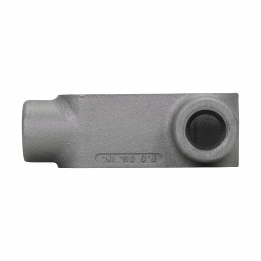 Eaton Crouse-Hinds series Condulet Form 7 conduit outlet body, Feraloy iron alloy, L shape, 1""