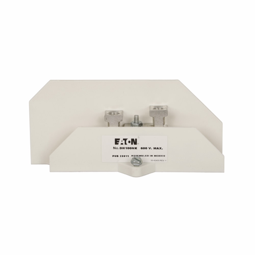 Eaton safety switch neutral kit (CUT DH100NK 100A NEUTRAL OR GROUND)